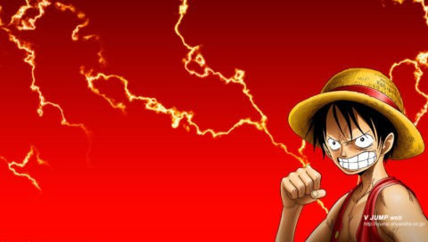 Luffy Angry PSP Wallpaper Download